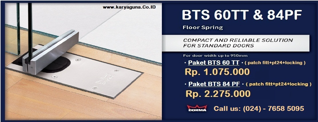 DORMA Floor Spring BTS60 84 Indonesia